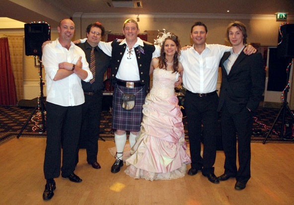 roll for your Scottish wedding party rather than the more traditional