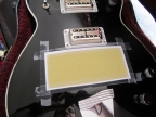 Gretsch Duo Jet 6128 - Bridge Replacement, sandpaper