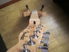 La Cabronita - Final build, neck looking down